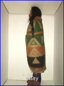 1920s VINTAGE SKOOKUM 13 TALL DOLL INDIAN NATIVE AMERICAN