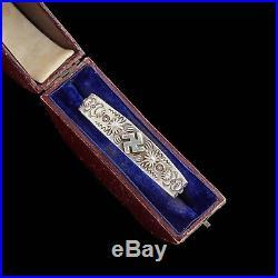 Antique Vintage Native Navajo Pawn Sterling 900 Coin Silver Stamped Bracelet