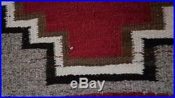 Beautiful vintage native american navajo navaho wool rug weaving Beautiful