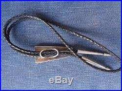 Hopi Bolo Tie Charles Supplee Inlay Turquoise Sugilite Coral Rare Vintage Loloma