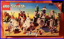 LEGO 6766 Wild West Rapid River Village Native Americans NIB Sealed New Box