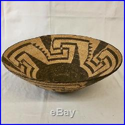 Large, Great, Vintage Native American Indian (Pima) Basket Circa 1920s