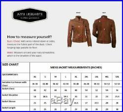 Men's Native American Rare Buckskin Beaded Leather Jacket Fringes War Shirt AZ03