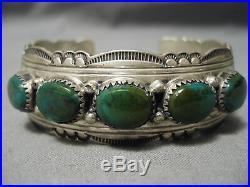 Museum Vintage Navajo Royston Turquoise Sterling Silver Bracelet Old