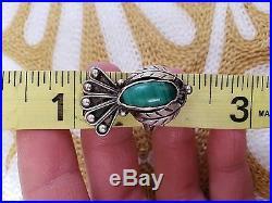 Navajo Turquoise Vintage Ring Lot
