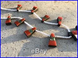Superb Vintage Native American Santo Domingo Beaded Thunderbird Necklace