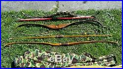 VINTAGE Ben Pearson BEAR KODIAK GLASS POWERED BOW Indian Native American antique