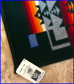 VTG NEW Pendleton Beaver State Wool Native American Design Blanket 64 X 80