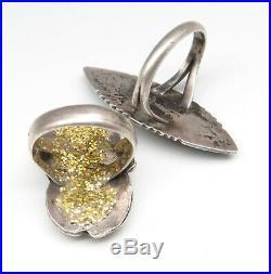 VTG Sterling Silver Parts Repair Lot Navajo Pendants Turquoise Ring Earrings 46g