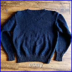 Vintage 1994 Polo Ralph Lauren Hand Knit Indian Head Sweater