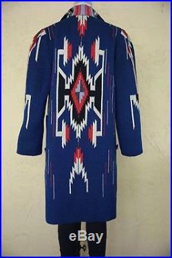 Vintage 60s 70s Chimayo Jacket Coat Aztec Southwestern Native American Indian