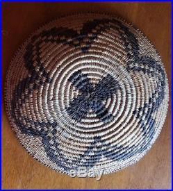 Vintage Apache basket. Native American. Found amid vintage jewelry