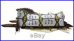Vintage Cheyenne Native American full size Papoose Cadleboard fully beaded