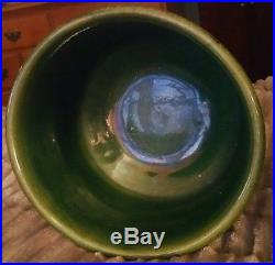Vintage Minty Brush Mccoy Art Pottery Native American Indian Jardiniere Vase