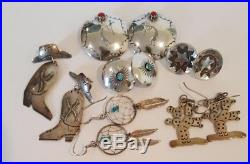 Vintage Native American Sterling Silver Jewelry Lot