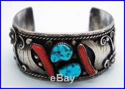 Vintage Native American Turquoise Jewelry Lot Bracelet Ring Necklce Pin Navajo