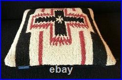 Vintage Pendleton Wool Beaver State Blanket Pillow Native American Design