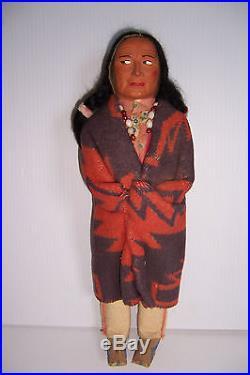 vintage skookum indian dolls
