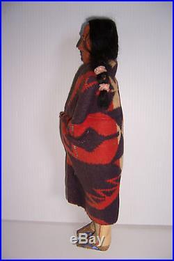 Vintage Skookum Native American Indian Man Doll 15