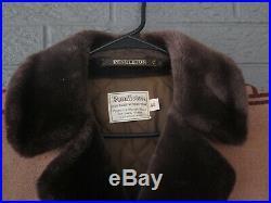 Vtg Pendleton Wool Blanket Jacket Coat Native American Print Chief Joseph 44